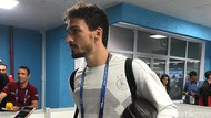 Keramahan Mats Hummels di Mixed Zone Fisht Stadium