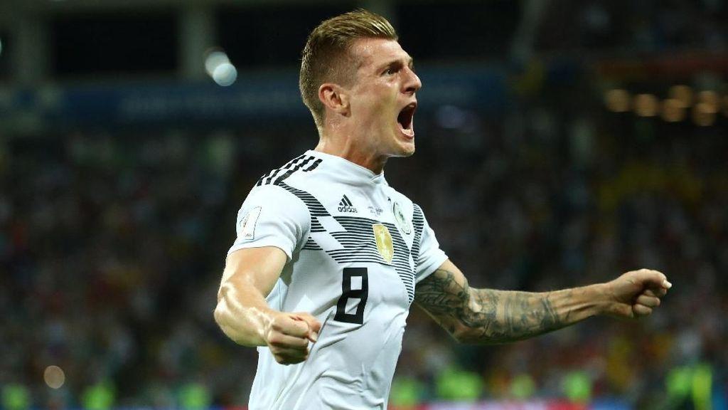 Bidik Piala Eropa 2020, Kroos Tak Akan Buru-buru Pensiun dari Timnas