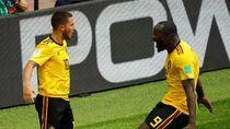 Foto: Lukaku dan Hazard Cemerlang, Belgia Pesta Gol