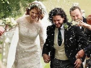 Gaun Dramatis Rose Leslie Saat Dinikahi Jon Snow Game of Thrones