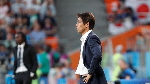 Akira Nishino, pelatih Jepang melakukan pergantian strategi dengan jeli saat memasukkan Keisuke Honda.