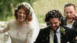 Kit Harington dan Rose Leslie Game of Thrones Resmi Menikah
