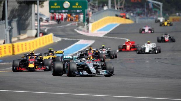 Lewis Hamilton berhasil memenangi balapan F1 GP Prancis.