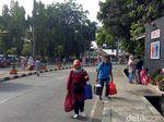 Terminal Kampung Rambutan Mulai Sepi dari Pemudik Arus Balik
