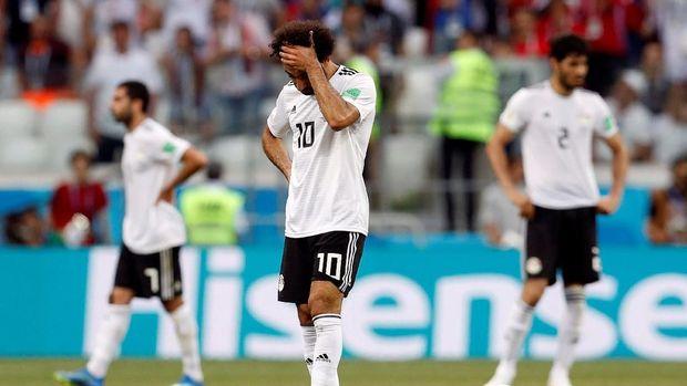 Mohamed Salah gagal memberikan yang terbaik untuk timnas Mesir.