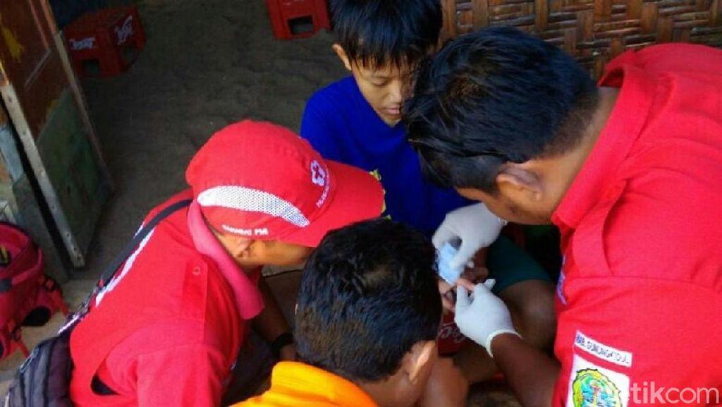 Puluhan Wisatawan Tersengat Ubur-ubur di Gunungkidul