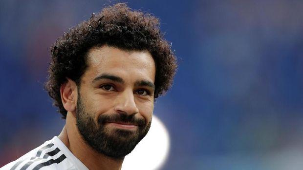 Pemain terbaik Liga Primer Inggris 2017/2018 Mohamed Salah tak diturunkan dalam laga di ICC.