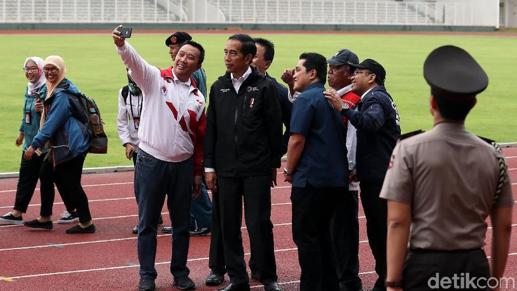 Jokowi Usahakan Kim Jong Un Hadiri Pembukaan Asian Games