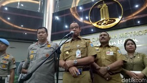 Jakarta Kondusif Saat Lebaran, Anies Apresiasi Jajaran Polda Metro