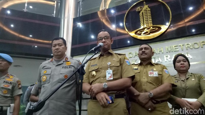 Gubernur DKI Jakarta Anies Baswedan (Muhammad Fida/detikcom)