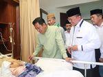 Ketum PPP Jenguk Ulama Betawi Buya Saifuddin