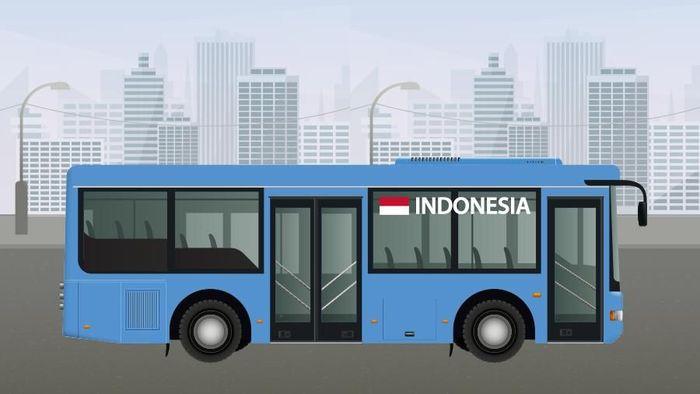 RI Ekspor Bus ke Bangladesh