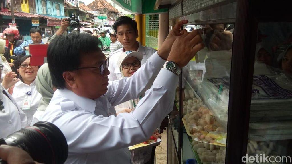BPPOM Tempel Stiker Aman Konsumsi di Sentral Kuliner Palembang