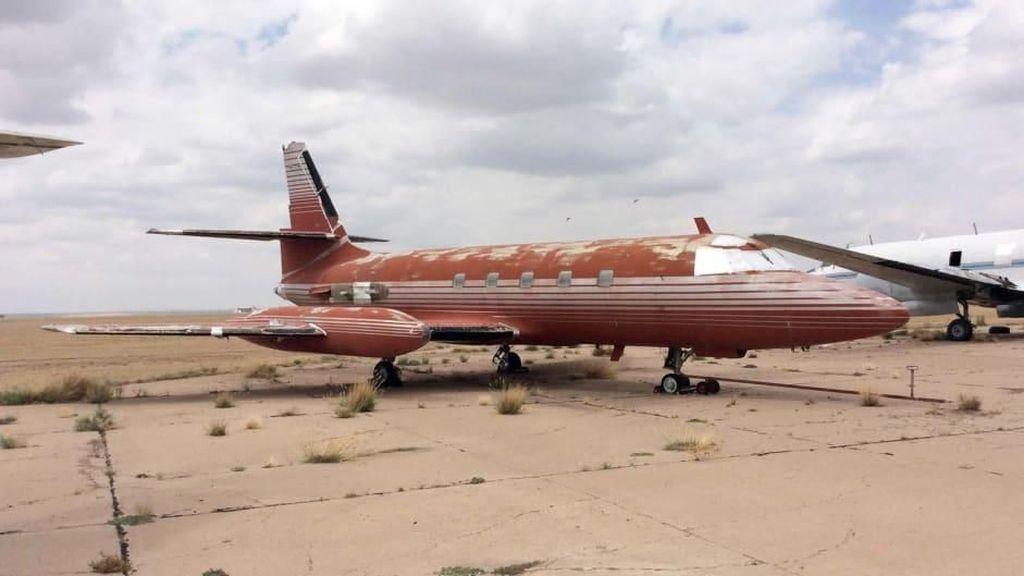 Jet Usang Elvis Presley Dilelang Kembali