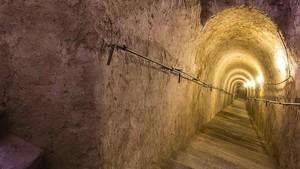 Terowongan Rahasia Italia Disulap Jadi Galeri