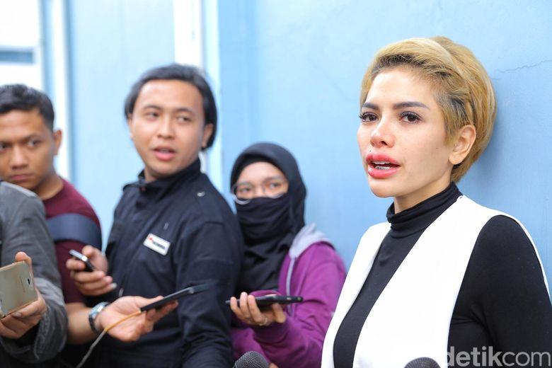 Nikita sempat dikabarkan tak menghadiri lebaran bersama keluarga Dipo Latief.Pool/Ismail/detikFoto