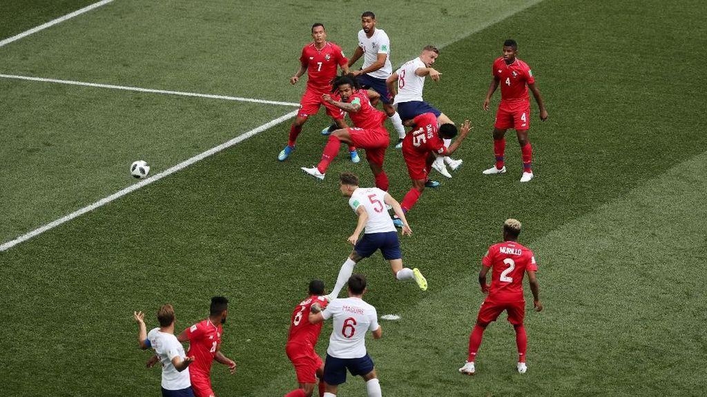 Inggris Mengancam Lewat Bola Mati di Piala Dunia 2018