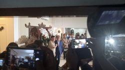 Tiba di Kediaman Zulikifli Hasan, Prabowo Singgung Sumbangan