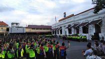 1.312 Personel Polisi Siap Amankan 3.431 TPS di Surabaya