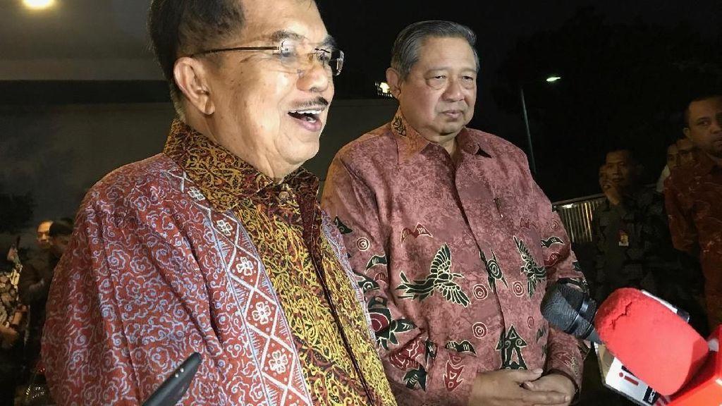Denny JA: Pertemuan SBY-JK Appetizer Perang Pilpres 2019