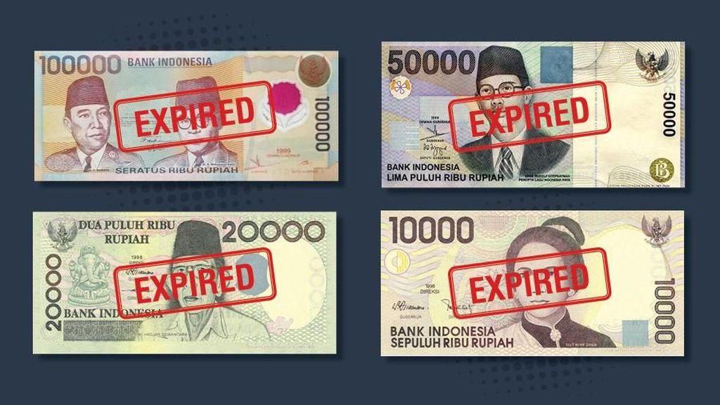 Uang Kertas yang Mau Kedaluwarsa Dijual Hingga Jutaan Rupiah