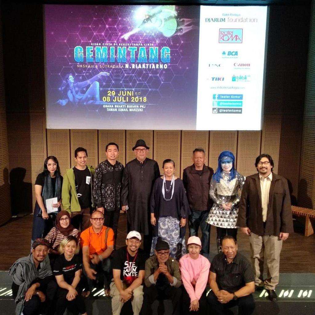 Teater Koma Tetap Sentil Pemerintah di Lakon Gemintang
