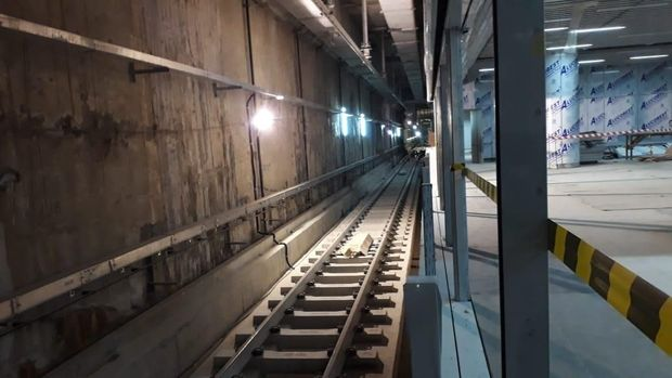Menteri Luar Negeri Jepang Blusukan ke Terowongan MRT Jakarta