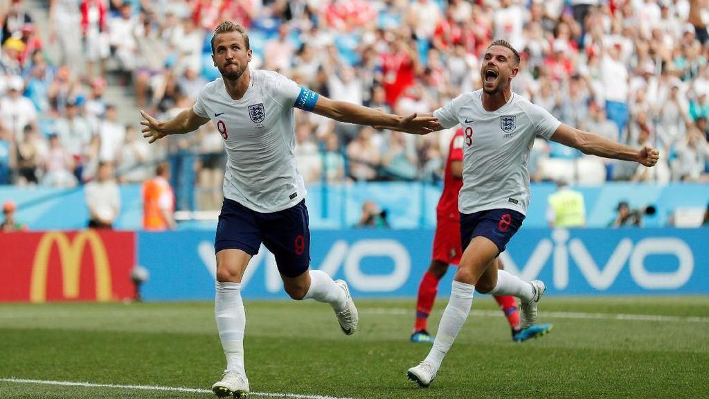 Melihat Lagi 6 Gol Inggris ke Gawang Panama