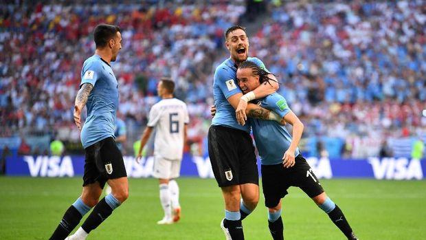 Uruguay Mengakhiri Babak Penyisihan Dengan Hasil Sempurna