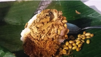 Nasi Puyung khas Lombok (Yudhistira/detikTravel)