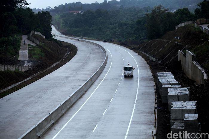 Penampakan tol Bogor-Ciawi-Sukabumi (Bocimi) seksi I.