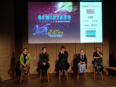 Usung Tema Fiksi-Ilmiah, Teater Koma akan Pentaskan Lakon 'Gemintang'