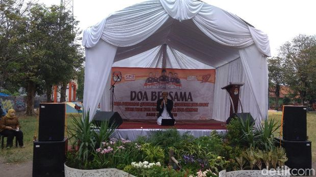 Sambut Pilkada Damai, KPU Cirebon Gelar Doa Bersama