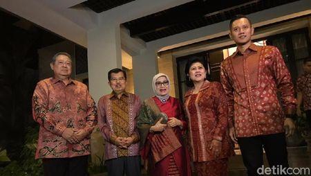 Foto: Pertemuan Kekeluargaan SBY-JK