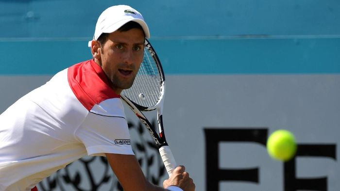 Novak Djokovic tak memasang target tinggi-tinggi di Wimbledon 2018 (Foto: Tony OBrien/Action Images via Reuters)