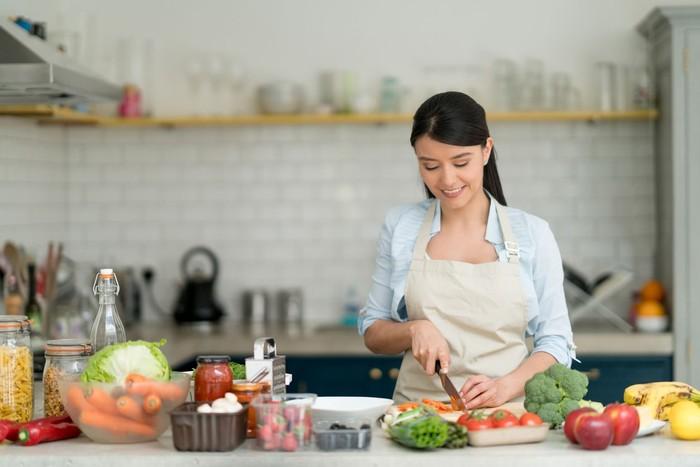 masak di dapur