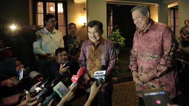 SBY dan JK saat bertemu.