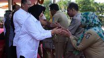 Halalbihalal, Ribuan ASN Antre Bersalaman dengan Wali Kota Risma