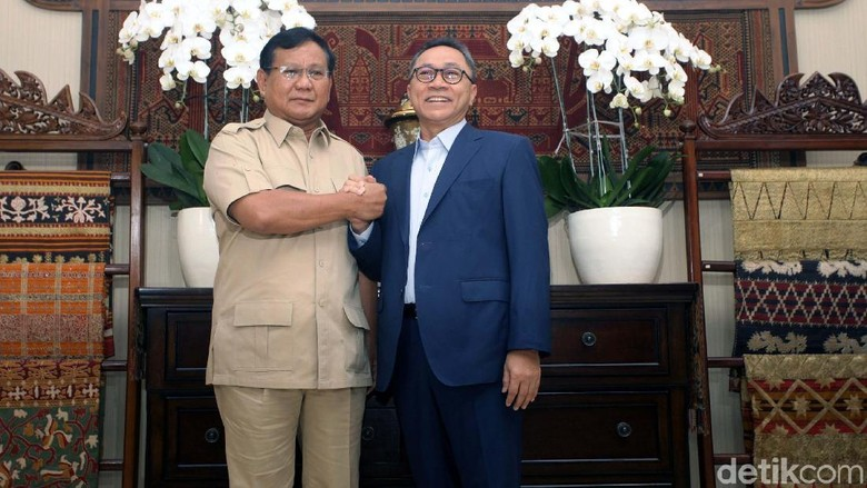 PAN Tak Mau Berspekulasi Prabowo Batal Nyapres