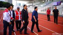 Persiapan Asian Games, Jokowi Tinjau Kompleks GBK