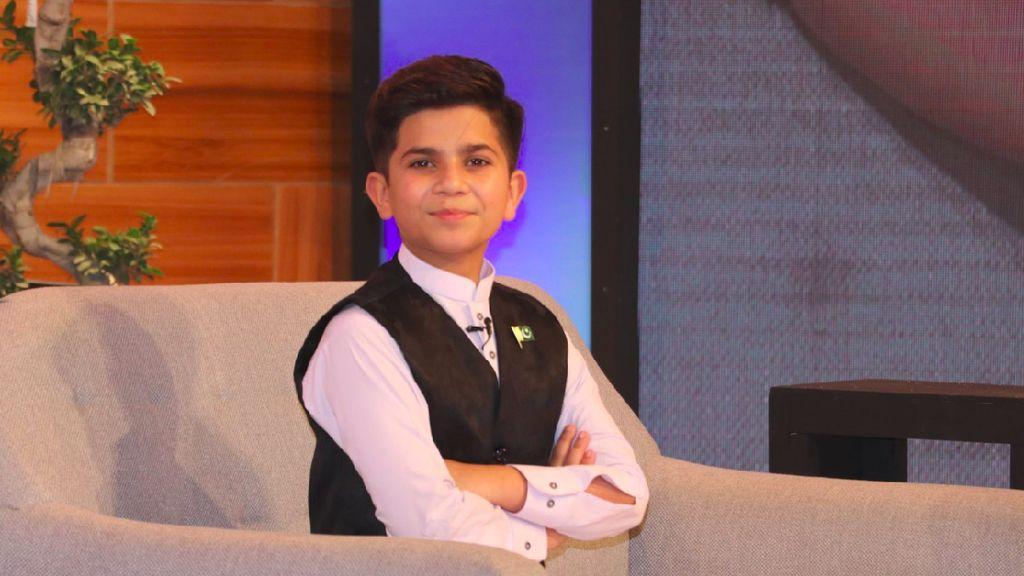 Hammad Safi, Bocah 11 Tahun Asal Pakistan yang Jadi Motivator