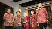 SBY-JK Cipika Cipiki di Momen Silaturahmi