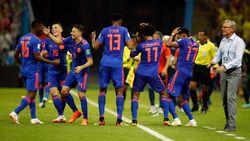 Menang 3-0, Kolombia Singkirkan Polandia