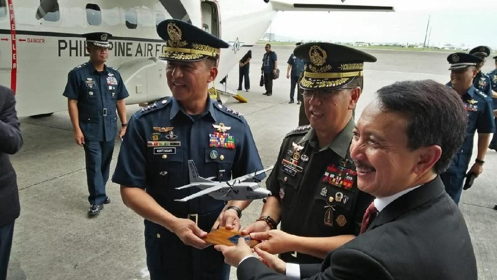 2 Pesawat Made in Bandung Diterima Angkatan Udara Filipina
