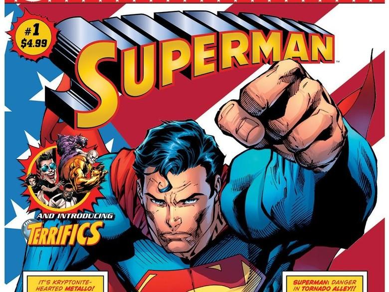 Bedanya Komik Superman Garapan Brian Michael Bendis dan Dan Jurgens