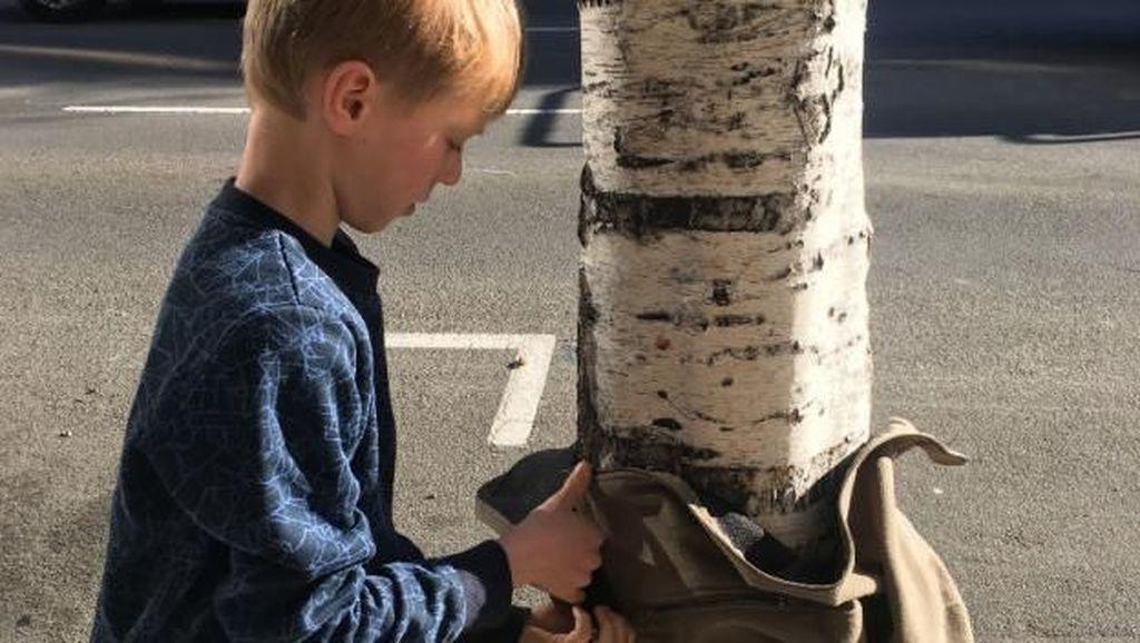 Keren! Bocah 10 Tahun Ini Bikin Proyek untuk Membantu Tunawisma