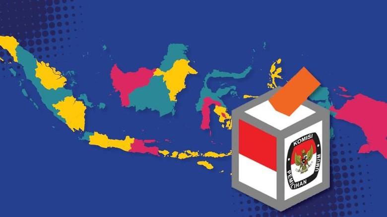 PPP dan NasDem Menangi 3 Pilgub di Jawa