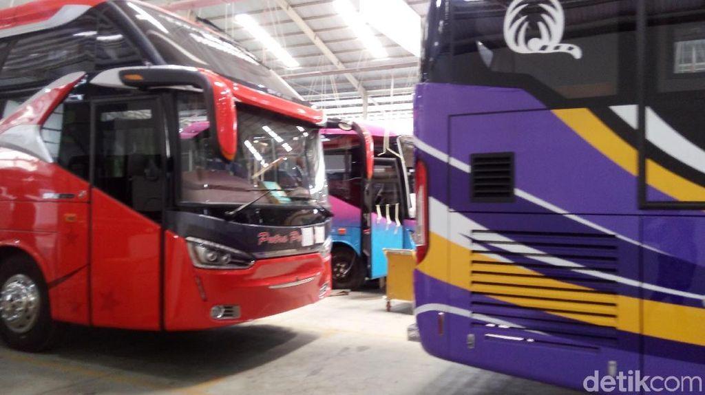Bisa Tampung 59 Orang, Ini Spek Bus yang Diekspor ke Bangladesh