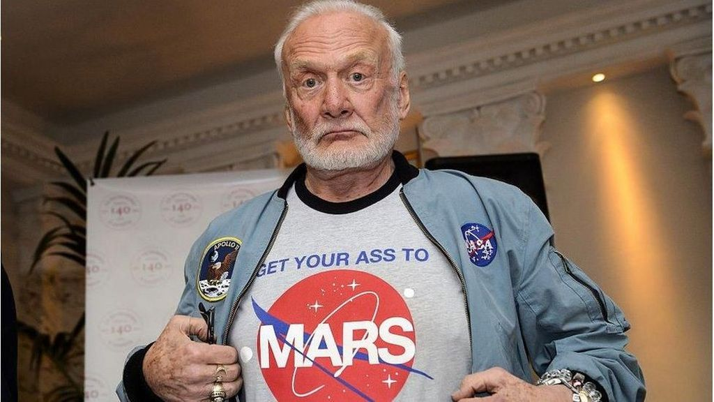 Buzz Aldrin Ingin Manusia Pindah ke Mars