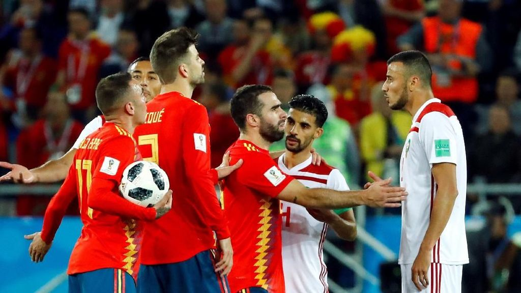 Video Highlights: Spanyol Vs Maroko 2-2